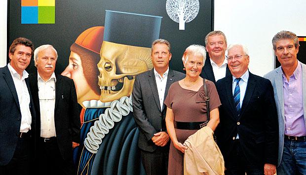 Zwei Seiten: Ausstellungs-Eröffnung in Tulln