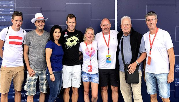 Zuschauerrekord bei 75. Generali Open in Kitzbühel