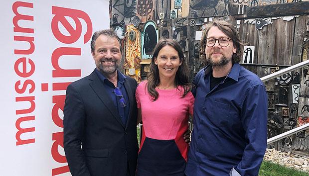 Maria Kostlinger Und Jurgen Maurer In Gugging Donaukulturmagazin